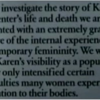 KAREN CARPENTER: TORTURED SUPERSTAR