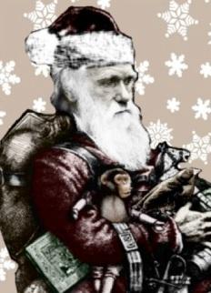Darwin as Santa