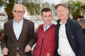 Ken Loach, Paul Hannigan and Paul Laverty.