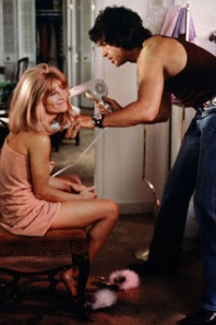 A blow dry scene from Shamppo