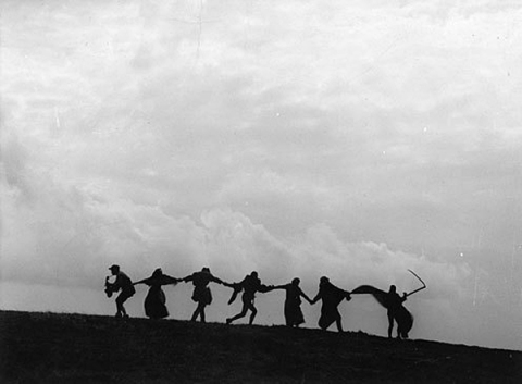 The Dance of Death from Ingmar Bergman's The Seventh Seal (1957)