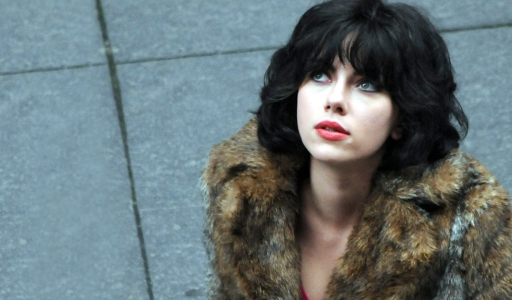 Sexy beast! Scarlet Johansson as the alien in Under The Skin.