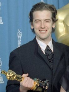 This might come in handy on the Tardis - Peter Capaldi with his Oscar statuette