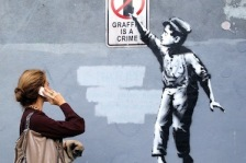 Banksy in the USA