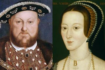 Henry VIII & Anne Boleyn - the beast and the beauty.