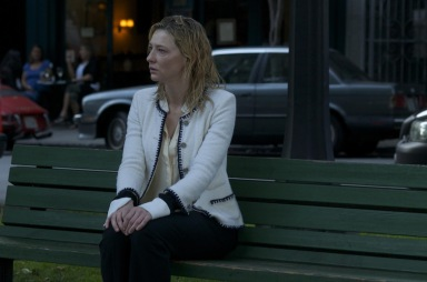 Jasmine (Cate Blanchett) hits rock bottom.