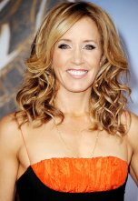 In real life. Felicity Huffman is all woman.