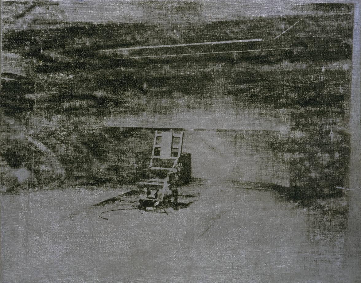 Electric chair andy warhol - Warhol Electric Chair 1964