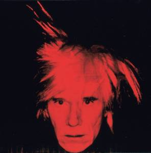 Andy Warhol Self-Portrait 1986
