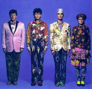 This ain't no disco! Talking Heads - publicity shot for Little Creatures (1985)